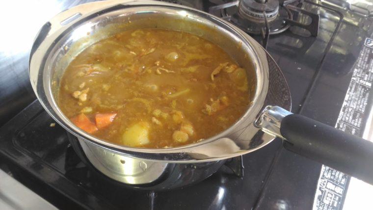 十得鍋 カレー