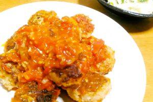 肉団子 フレッシュトマトソース