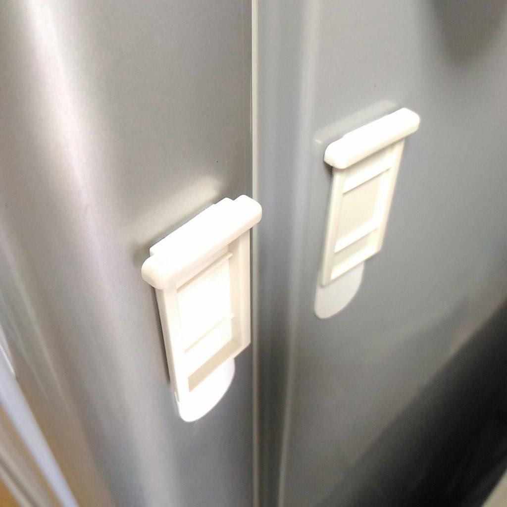 冷蔵庫ドアストッパー