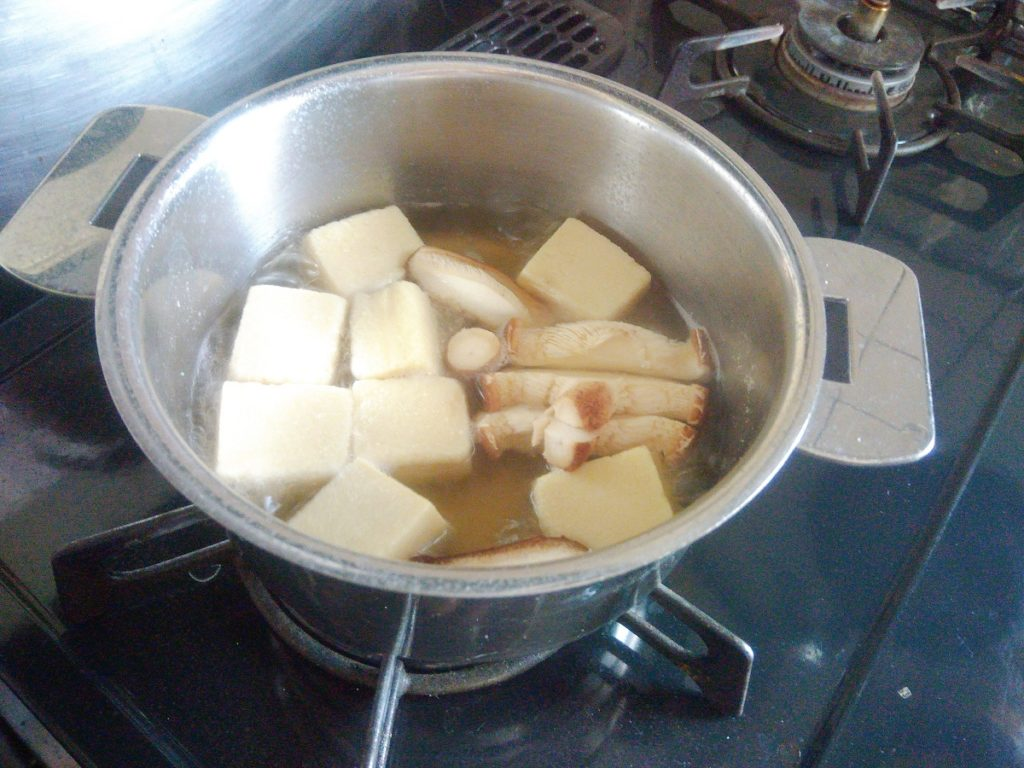 クリステル鍋 高野豆腐